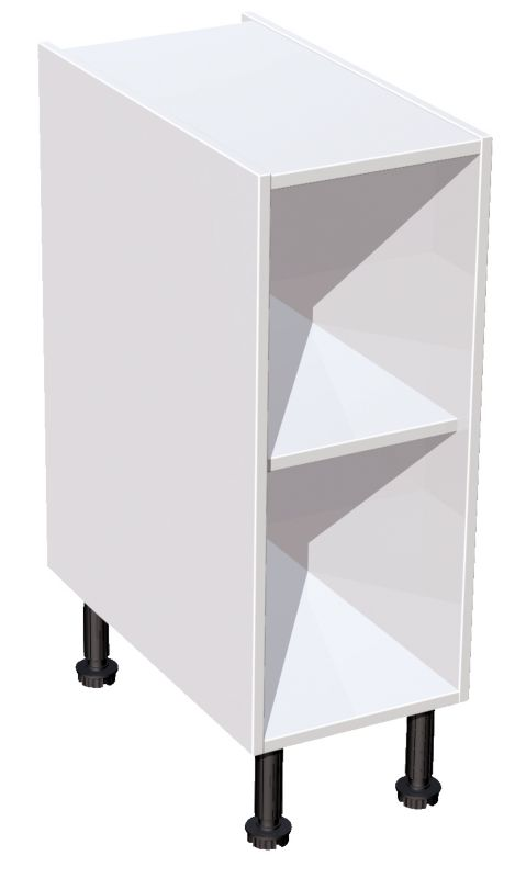 it Kitchens White Base Cabinet 300mm