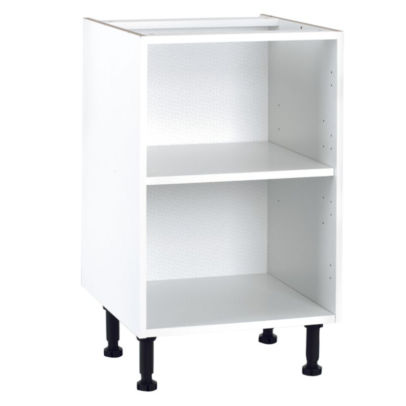 it Kitchens White Base Cabinet, (H)870 x (W)500 x (D)570mm