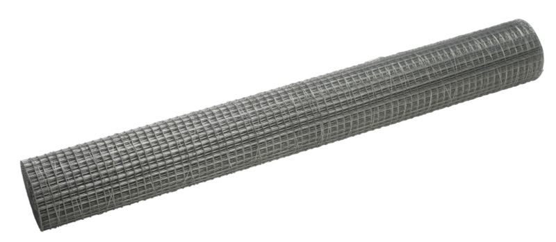 B&Q 13mm Galvanised Mesh Roll (L)6m x (W)0.9m