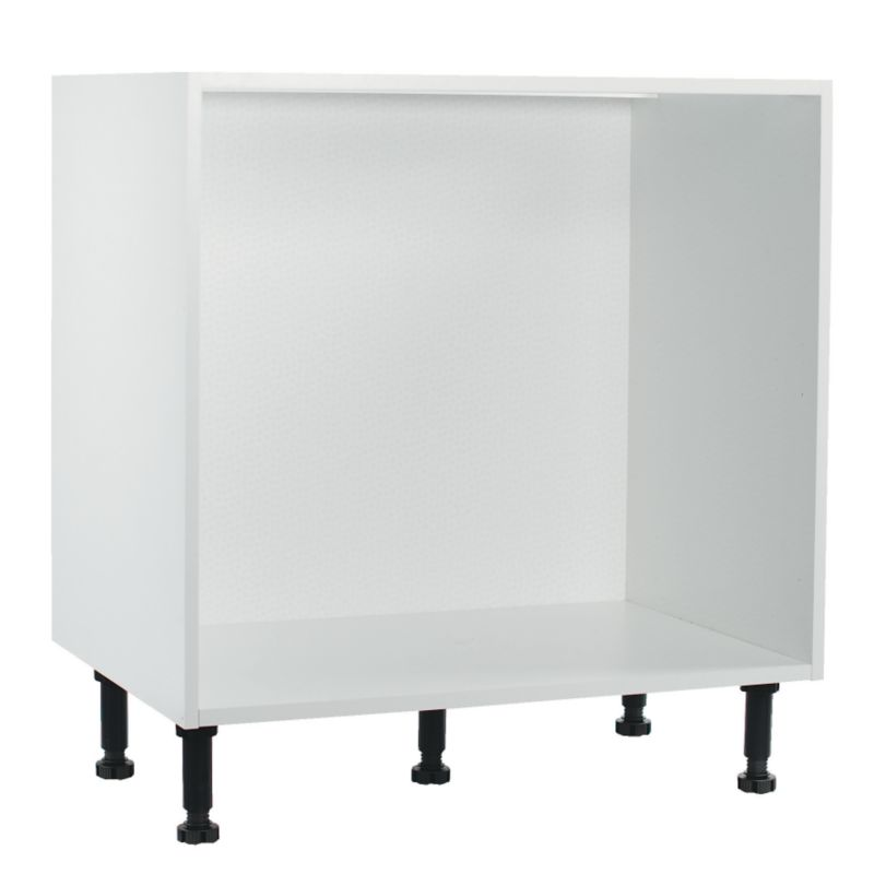 it Kitchens White Pan Drawer Base Cabinet 800mm