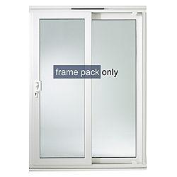 richmond pvcu patio door frame h 2050mm w 1790mm rooms