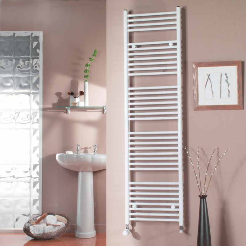 Decorative Towel Warmers : Towel radiators b and q bandq ladder rail brackets