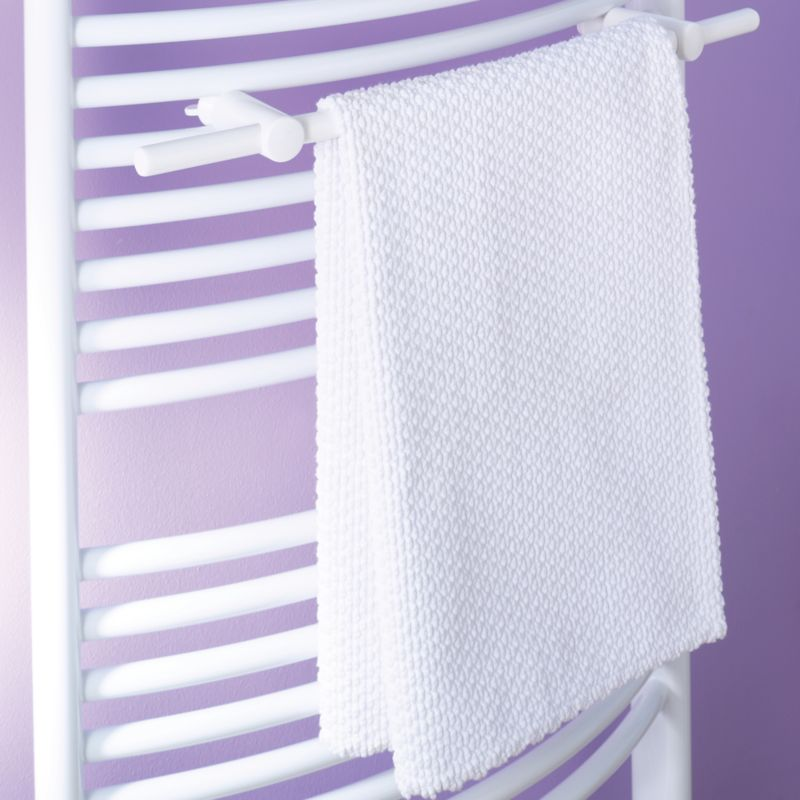 Bar Towel Rail White