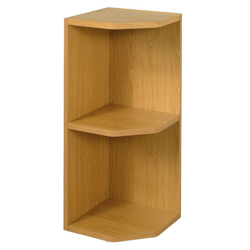 it Kitchens Solid Oak Style Open End Wall Unit 300mm