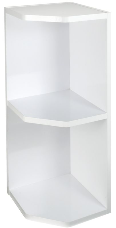 Gloss White Open End Wall Unit 300mm
