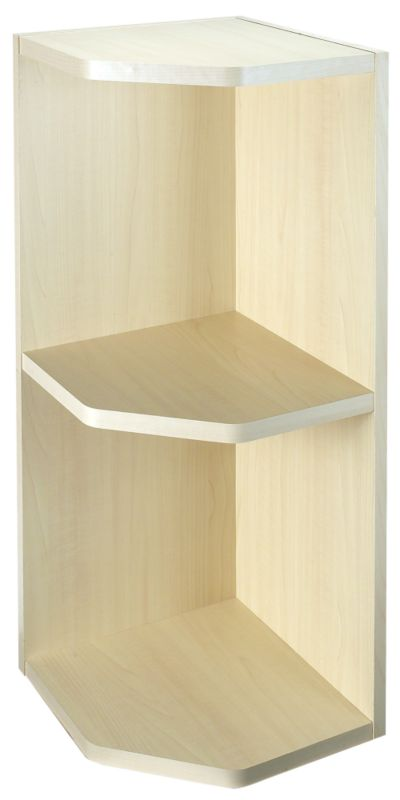 Maple Style Modern Open End Wall Unit 300mm