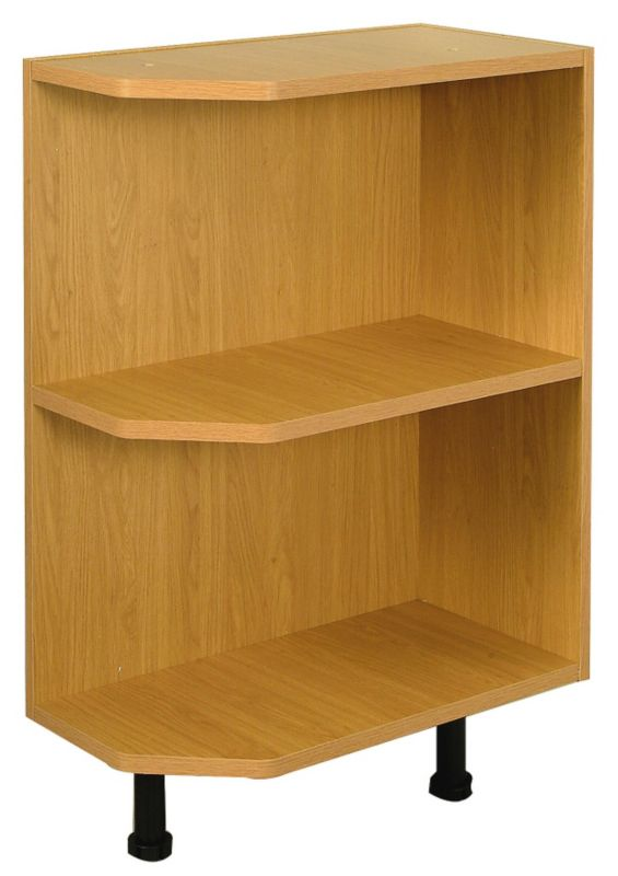 it Kitchens Solid Oak Style Open End Base Unit 300mm