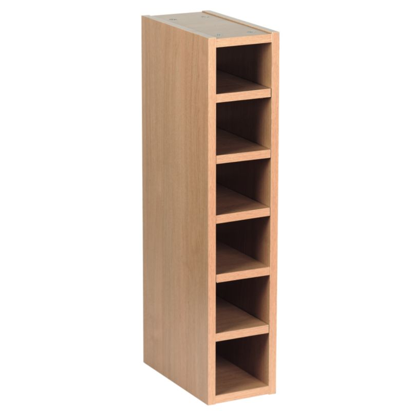 Oak Style Shaker Wine Rack Cabinet - CLICK FOR MORE INFORMATION