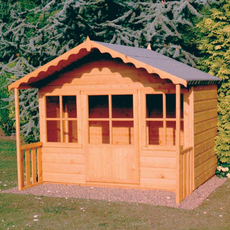 Pixie Playhouse - (H) 1.55m x (W) 1.86m x (D) 1.71m