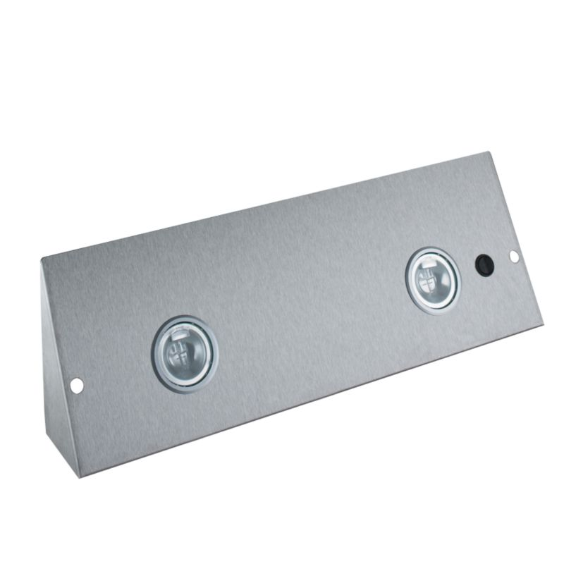 Double Wedge Light Stainless Steel - CLICK FOR MORE INFORMATION