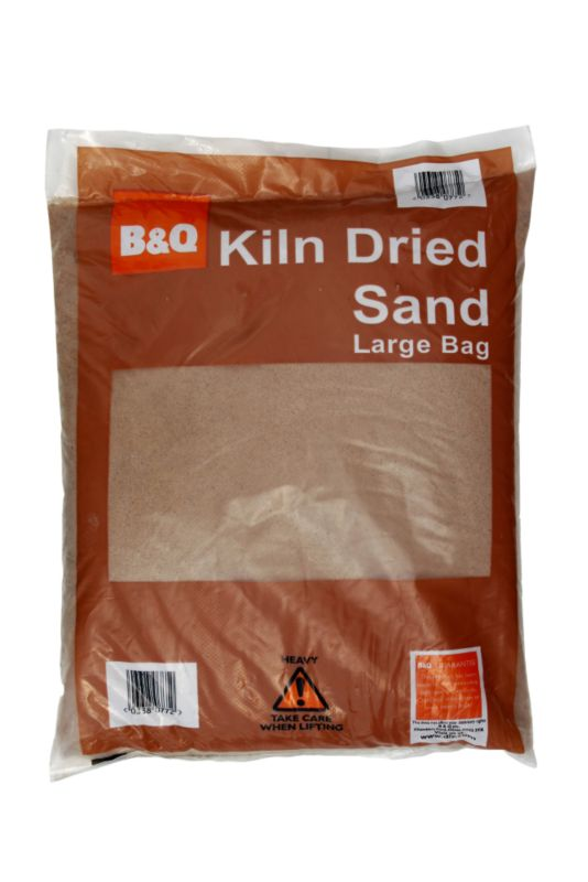 B&Q Kiln Dried Sand Natural