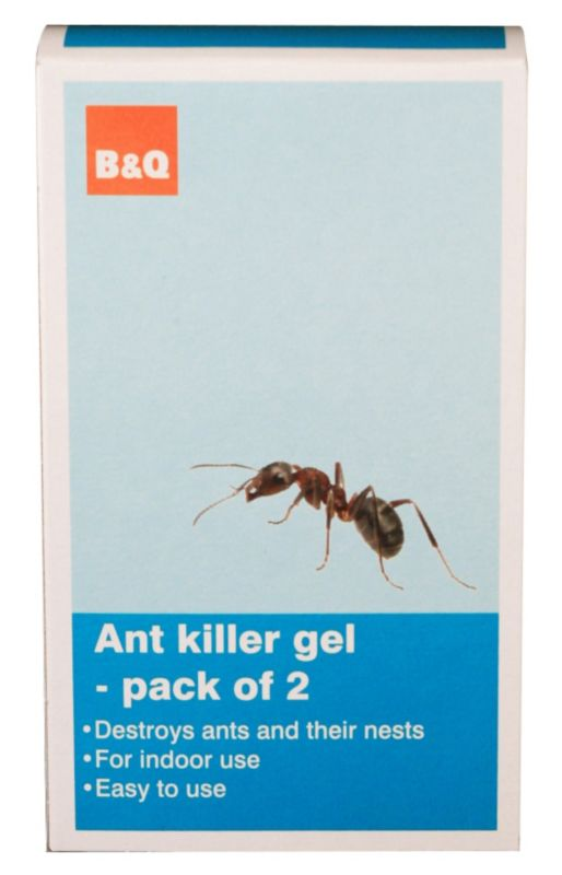 B&Q Ant Killer Gel Twinpack