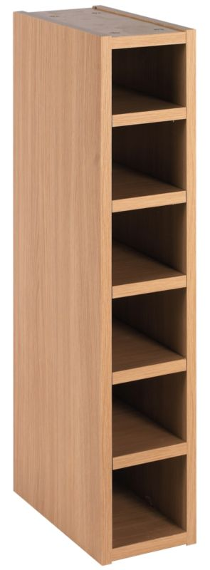 Oak Veneer Shaker Wine Rack Cabinet - CLICK FOR MORE INFORMATION