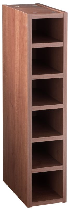 Walnut Style Shaker Wine Rack - CLICK FOR MORE INFORMATION