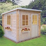 Save on this Dean Log Cabin - (H) 2.2m x (W) 2.39mx (D) 2.39m