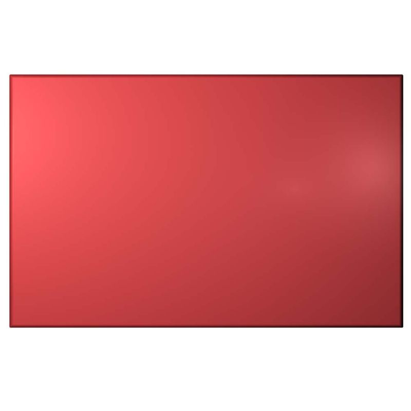 Cooke and Lewis High Gloss Red Pack J Semi-Intergrated Dishwasher Door 600mm