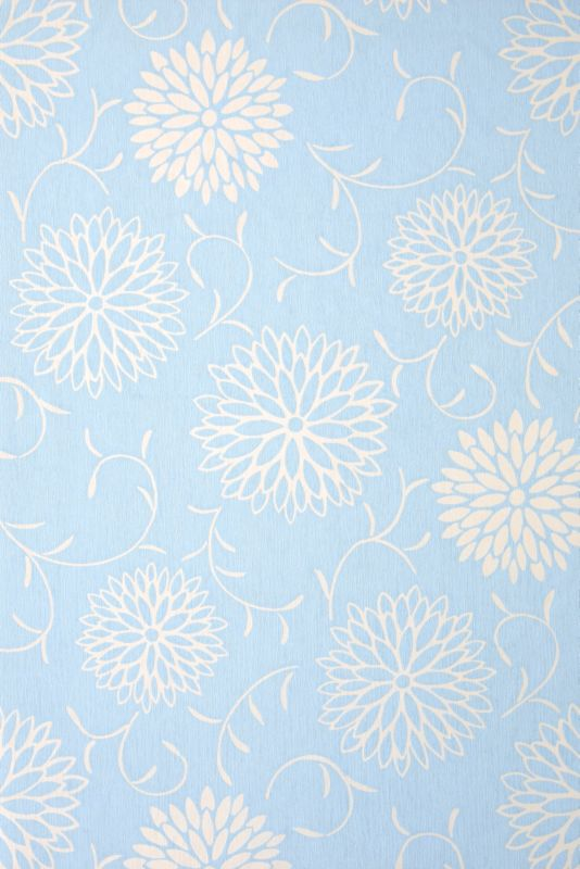 Colours by BandQ Romantic Wallcovering Blue 10M