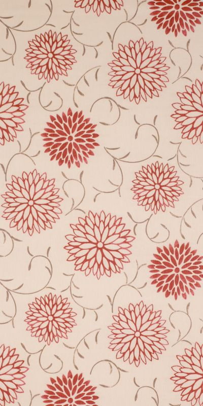 Colours by BandQ Romantic Wallcovering Red 10M