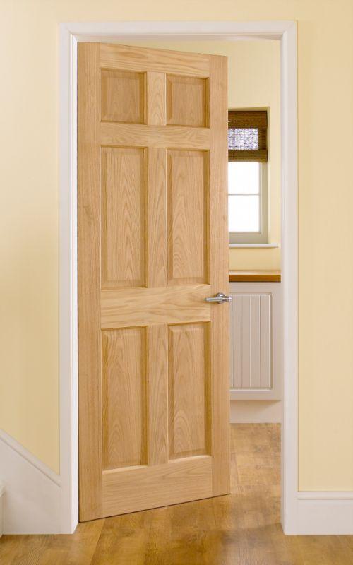 Broadland 6 Panel Oak Veneered Interior Door (H)191 x (W)66 & Cashback Broadland 6 Panel Oak Veneered Interior Door (H)191 x (W ... pezcame.com