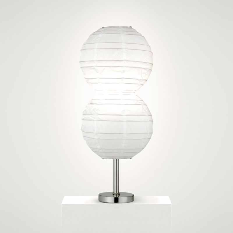 Lights by BandQ Ningbo Table Lamp Shade White