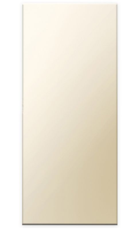 Gloss Cream Slab Tall End Panel D - CLICK FOR MORE INFORMATION