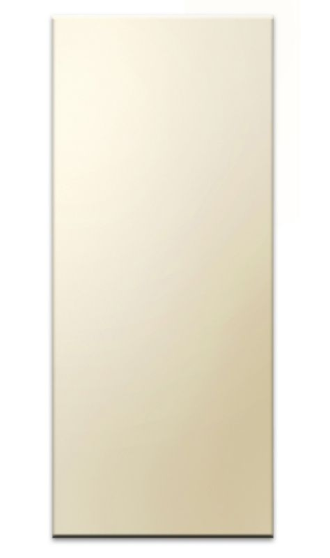 Gloss Cream Slab Wall End Panel A - CLICK FOR MORE INFORMATION