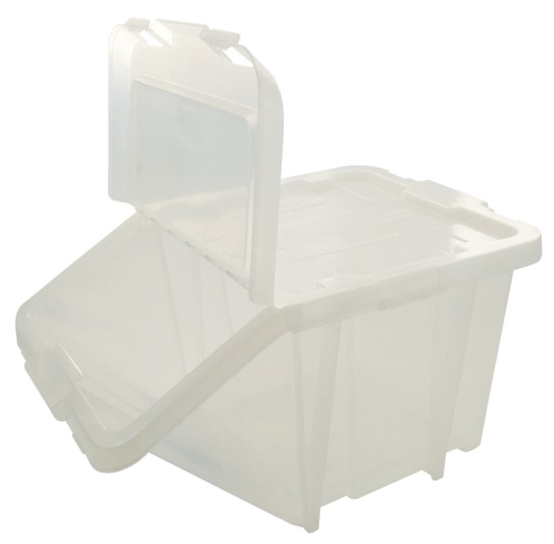 BandQ Core Stacking Box Viewable Clear