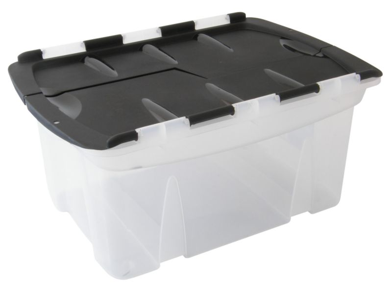 BandQ Core Locking Lid Crate (Includes Lid)