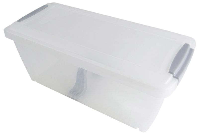 BandQ Core Media Box (Includes Lid) Clear Small
