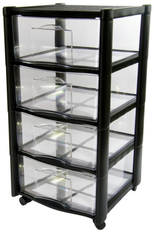 BandQ Core Vision Tower 4 Drawer (Includes Lid)