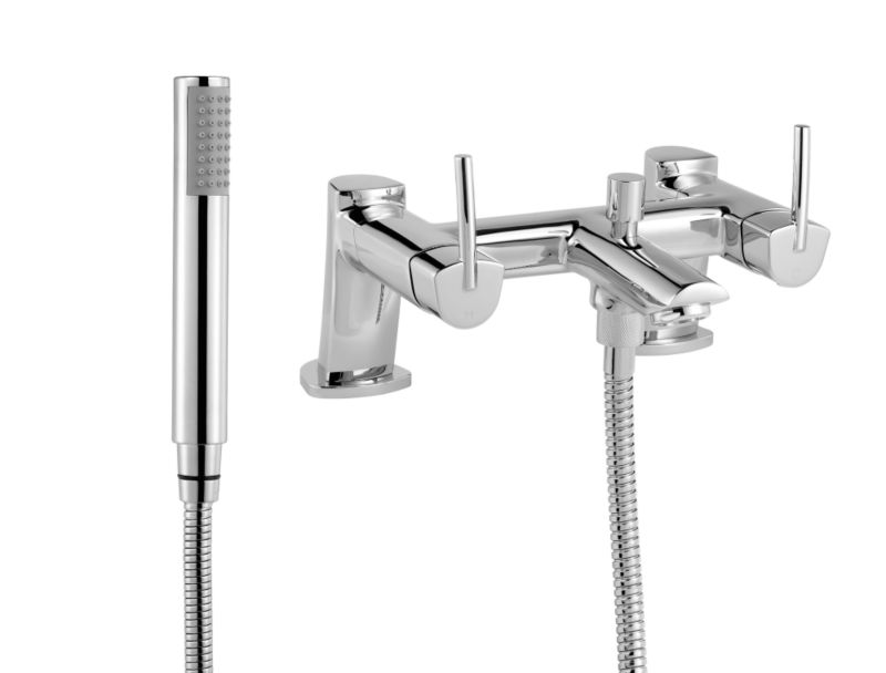 Axis Bath Shower Mixer Chrome
