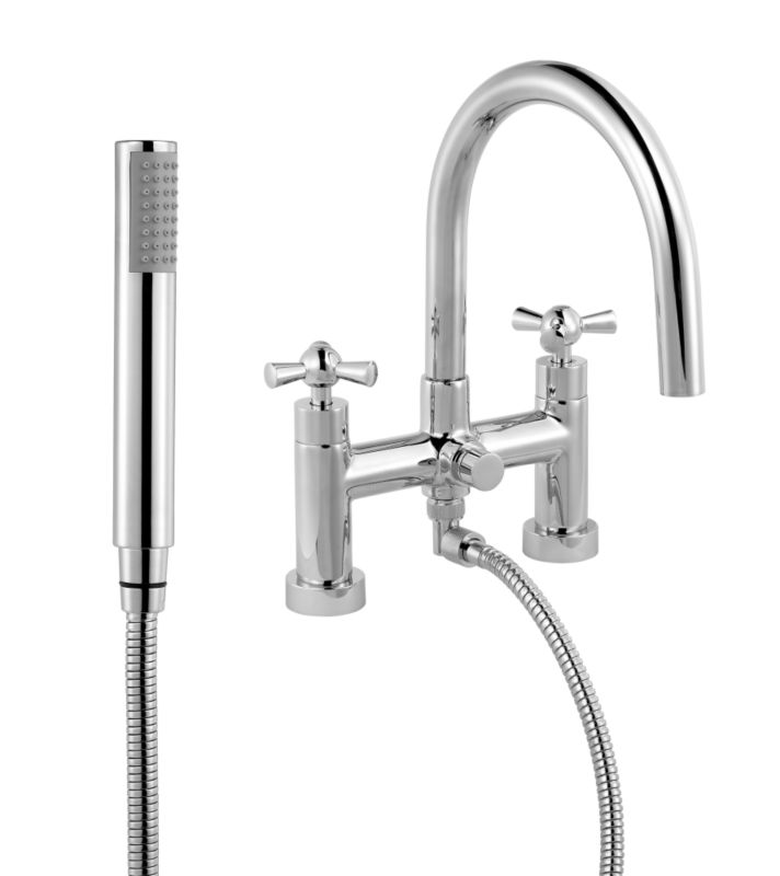 Porto Bath Shower Mixer Chrome