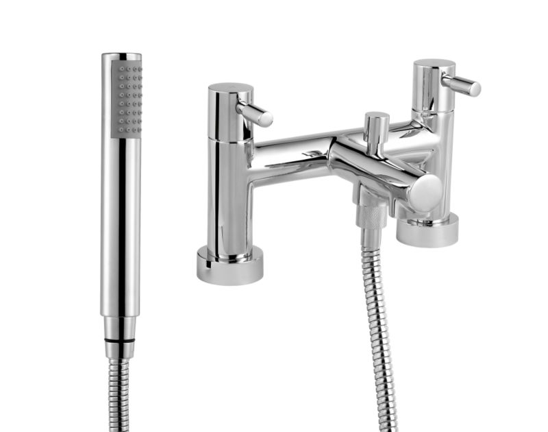 Cirque Bath Shower Mixer Chrome