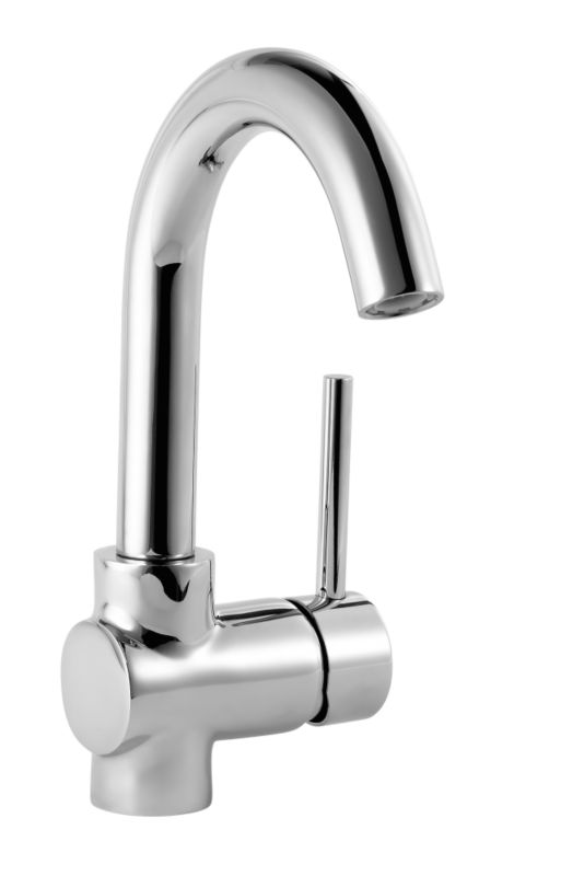 Minima Tall Basin Mixer Chrome