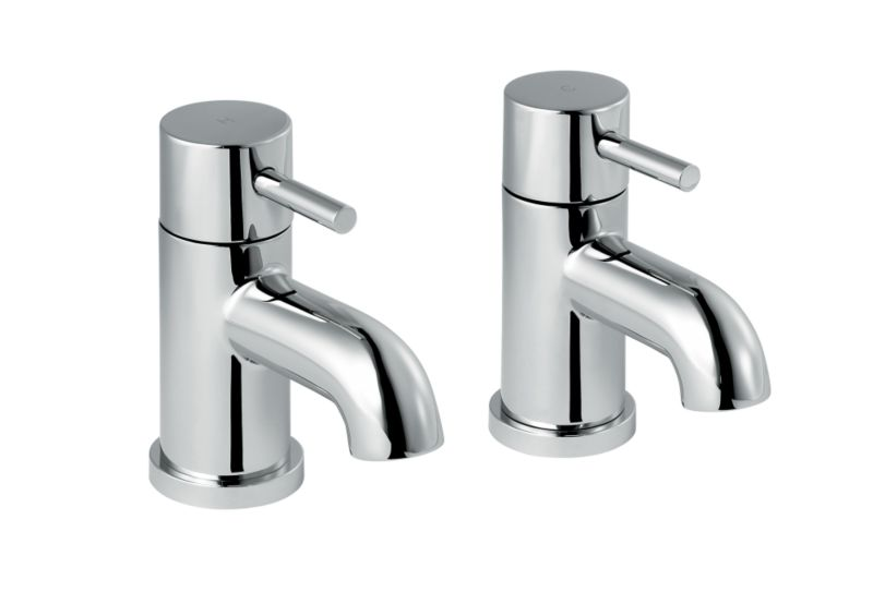 Minima Bath Taps Chrome
