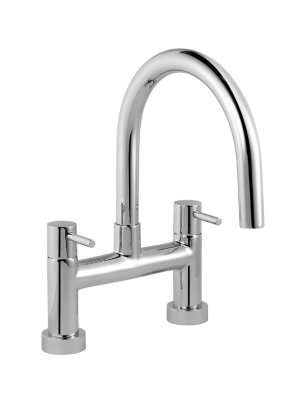 Minima Bath Filler Chrome