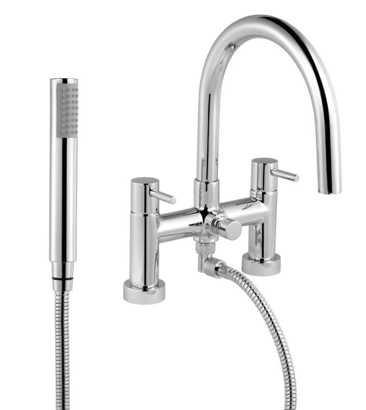 Minima Bath Shower Mixer Chrome