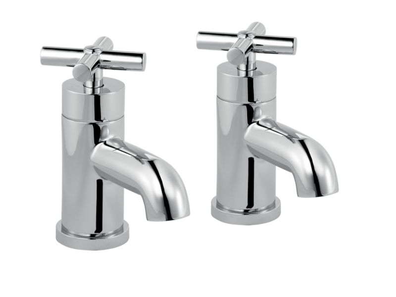 Quattre Bath Taps Chrome