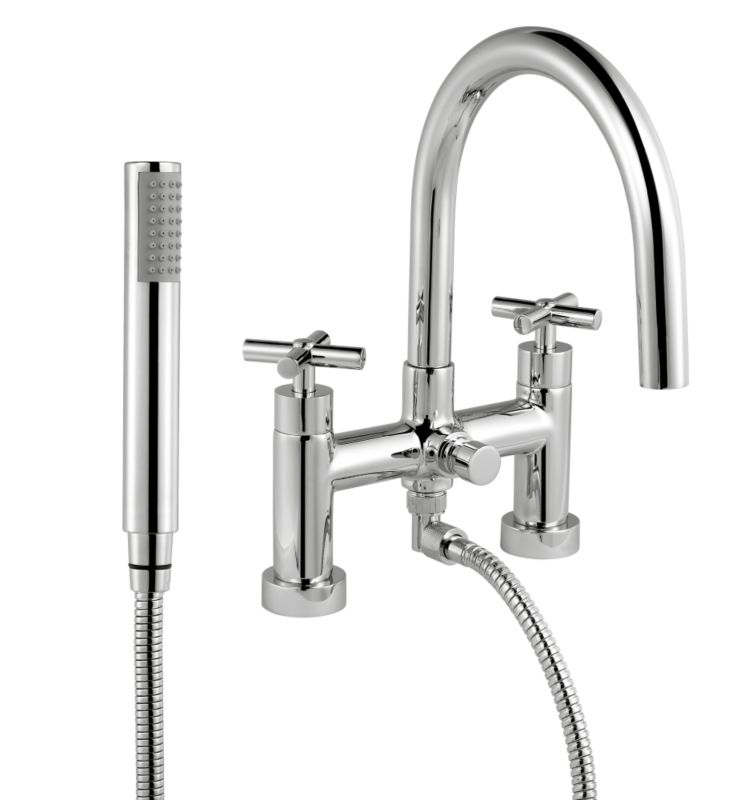 Quattre Bath Shower Mixer Chrome