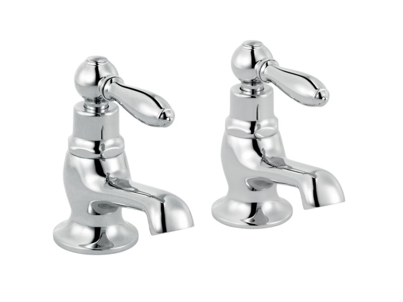 Timeless Bath Taps Chrome Effect