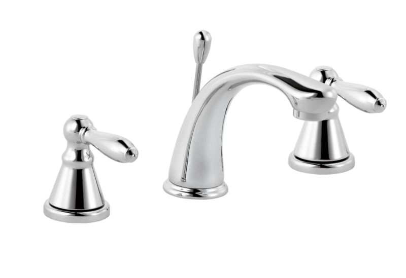 Timeless 3 Tap Hole Basin Mixer Chrome Effect