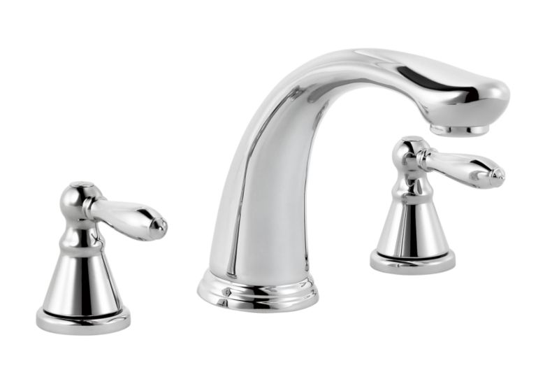 Timeless 3 Tap Hole Bath Filler Chrome Effect