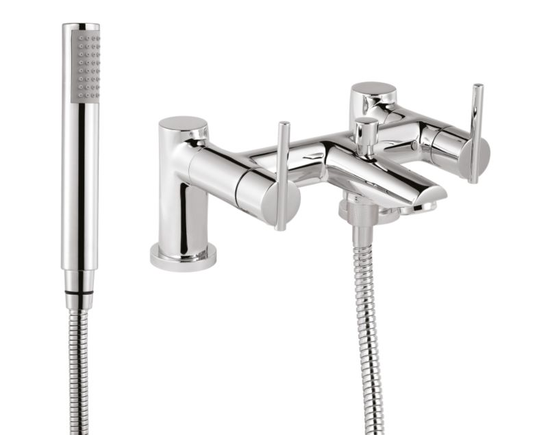Tranquillity Bath Shower Mixer Chrome