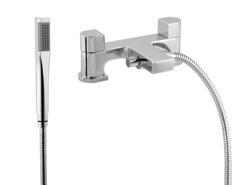 Mode Bath Shower Mixer Chrome Effect
