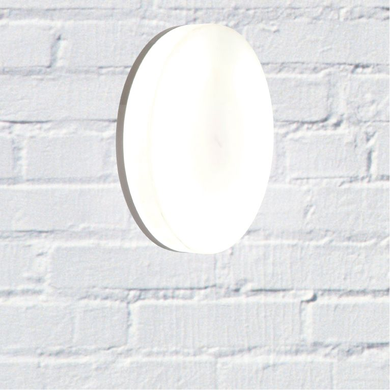 Zonk Energy Saving Wall Light Metallic Grey