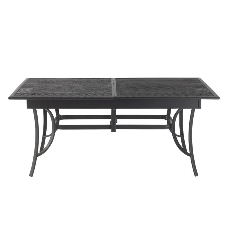 New York Extending Dining Table Grey