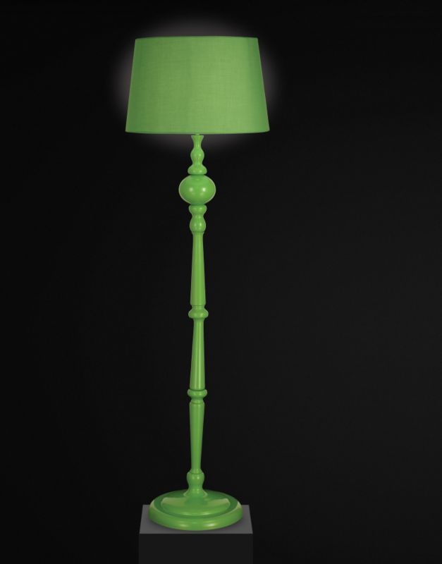 Lights By BandQ Lambton Floor Lamp Green