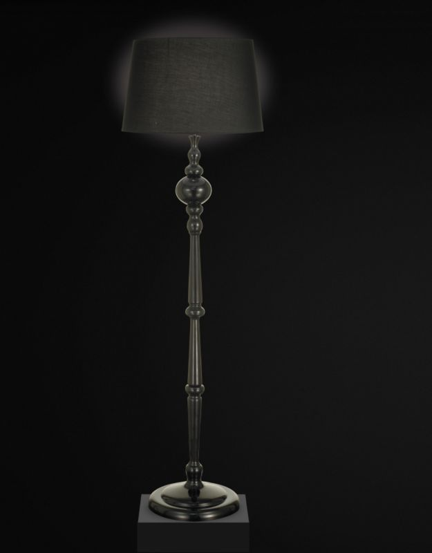 Lights By BandQ Lambton Floor Lamp Black