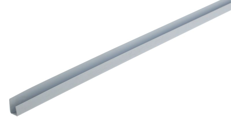 B and Q PVCU End Bead Artelam Blue (L)2400 x (W)25 x (T)10mm