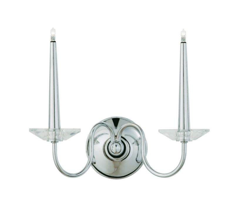 Chika 2 Light Candle Effect Wall Light - review, compare prices, buy online